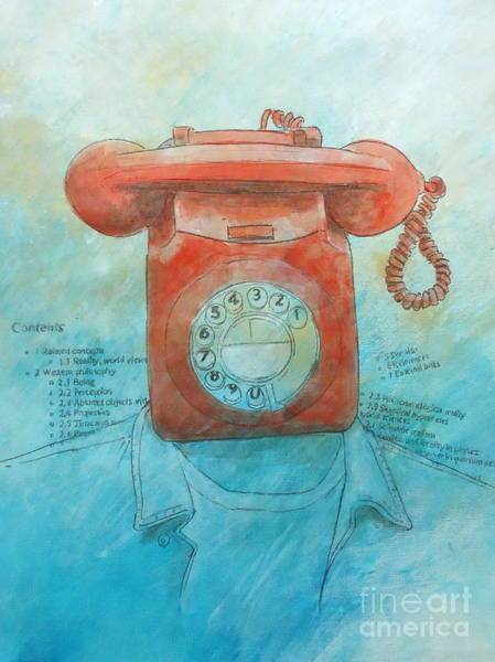 Dial Painting - Reality And Other Gossip by Paul OBrien