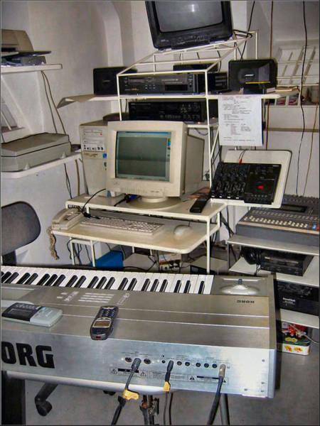 Photograph - Recording Studio 1992 by Glenn Bautista