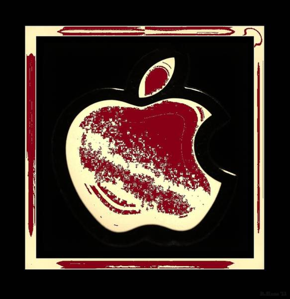 The Mac Wall Art - Photograph - Red Apple by Rob Hans