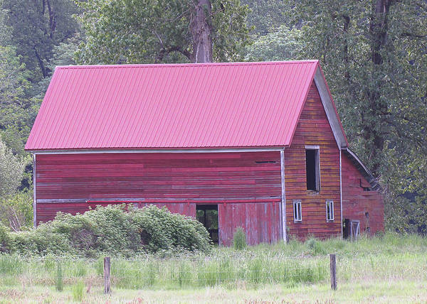 Photograph - Red Barn 1 by Tony and Kristi Middleton