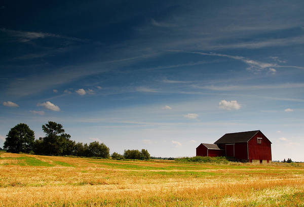 Wall Art - Photograph - Red Barn by Cale Best