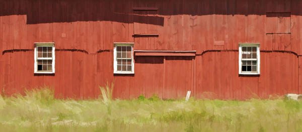 Photograph - Red Barn Of New Jersey by David Letts