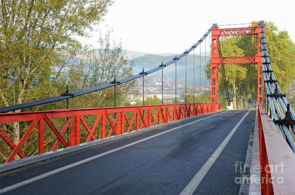Wall Art - Photograph - Red Bridge by Sami Sarkis