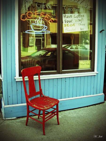 Photograph - Red Chair Diaries by Ms Judi
