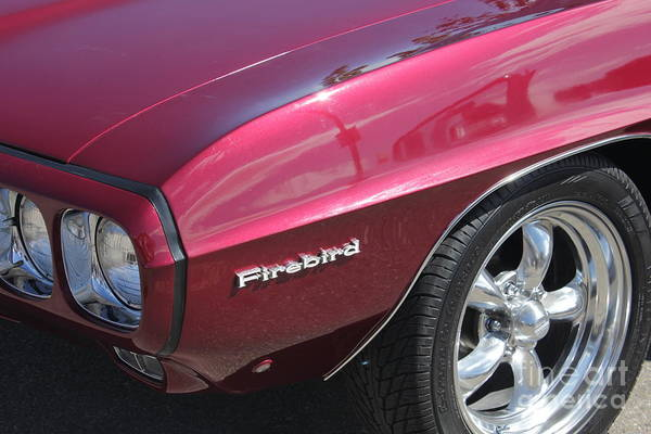 Photograph - Red Classic Firebird by Donna L Munro
