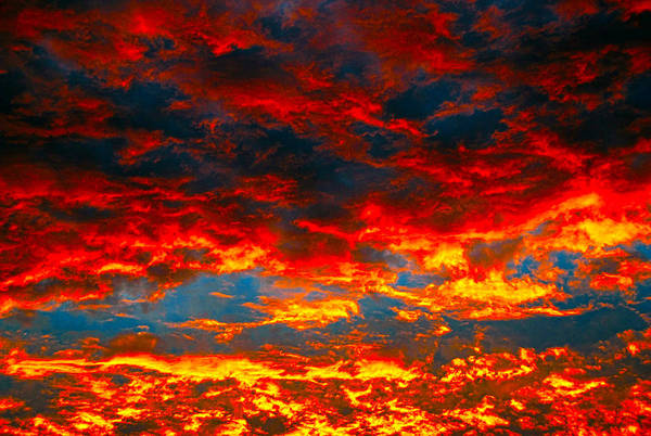 Photograph - Red Clouds by Dragan Kudjerski
