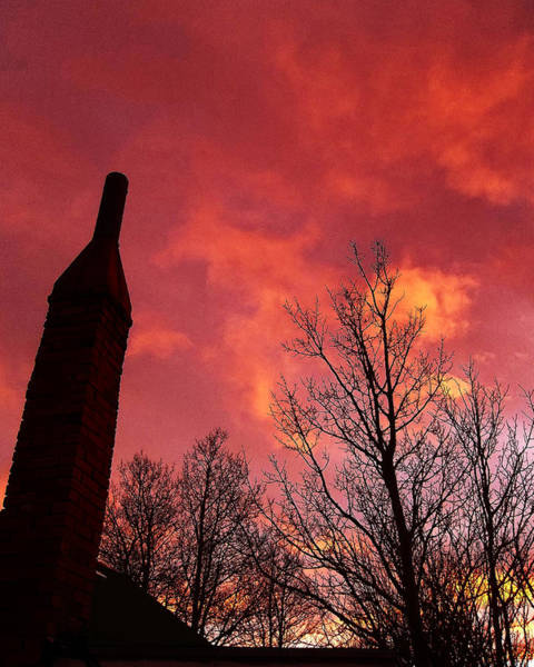 Wall Art - Photograph - Red Dawn Rising by Wesley Hahn
