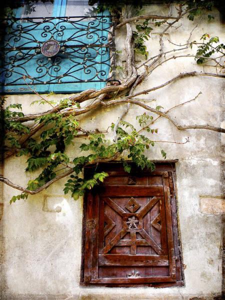 Wall Art - Photograph - Red Door Blue Door by Stacey Granger