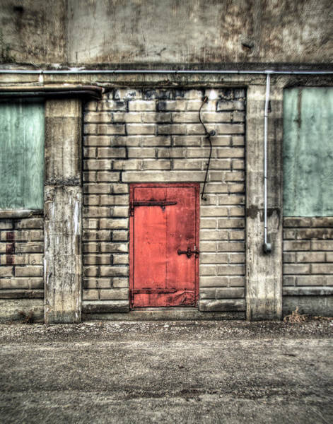 Wall Art - Photograph - Red Door by Tammy Wetzel