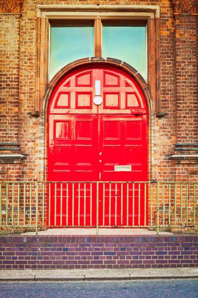 Door Wall Art - Photograph - Red Door by Tom Gowanlock