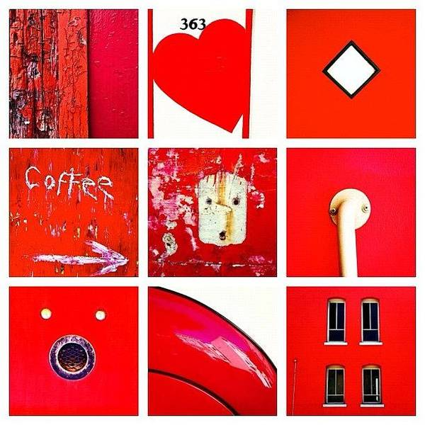 Red Wall Art - Photograph - red by Julie Gebhardt