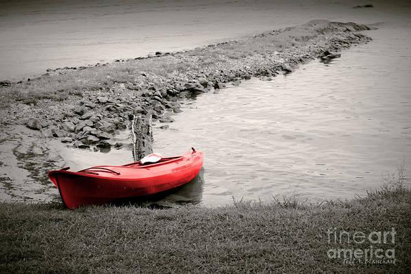 Photograph - Red Kayak by Todd Blanchard