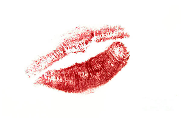 Valentines Photograph - Red Lips by Bernard Jaubert