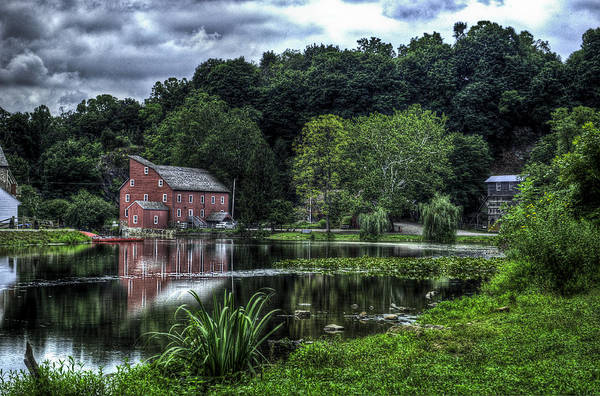 Wall Art - Photograph - Red Mill by Ryan Crane