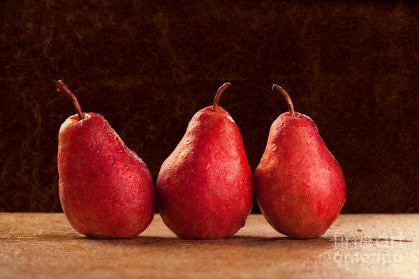 Photograph - Red Pears by Cindy Singleton