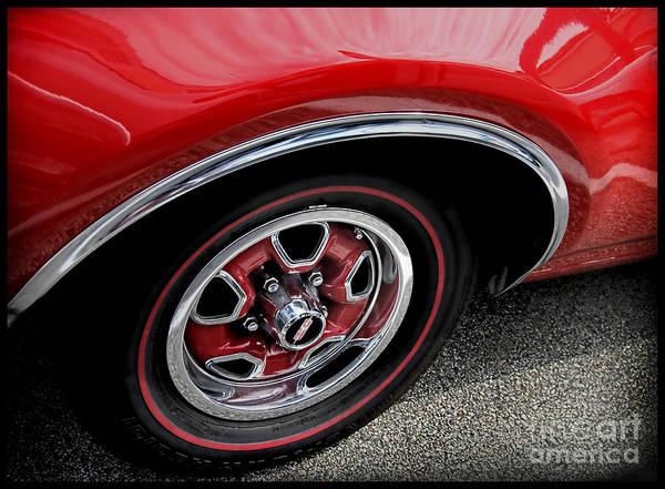 Oldsmobile 442 Photograph - Red Power Of 442 Oldsmobile by Alexandra Jordankova