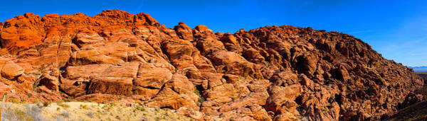 Photograph - Red Rock Canyon 2 by Richard Henne