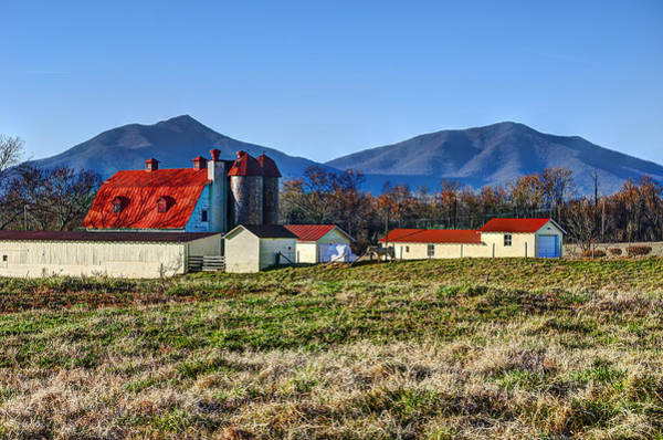 Wall Art - Photograph - Red Roof Barn by Steve Hurt