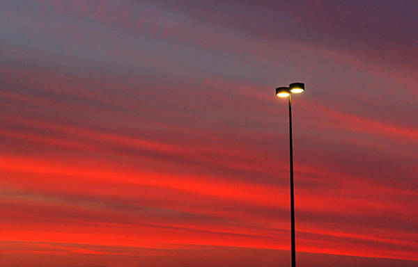 Photograph - Red Sky At Night by Sarah Broadmeadow-Thomas