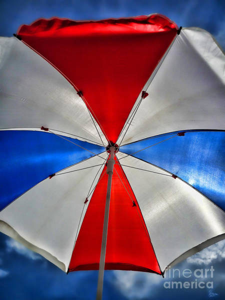 Photograph - Red White And Blue by Jeff Breiman