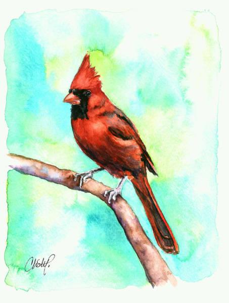 Painting - Redbird Cardinal by Christy Freeman Stark