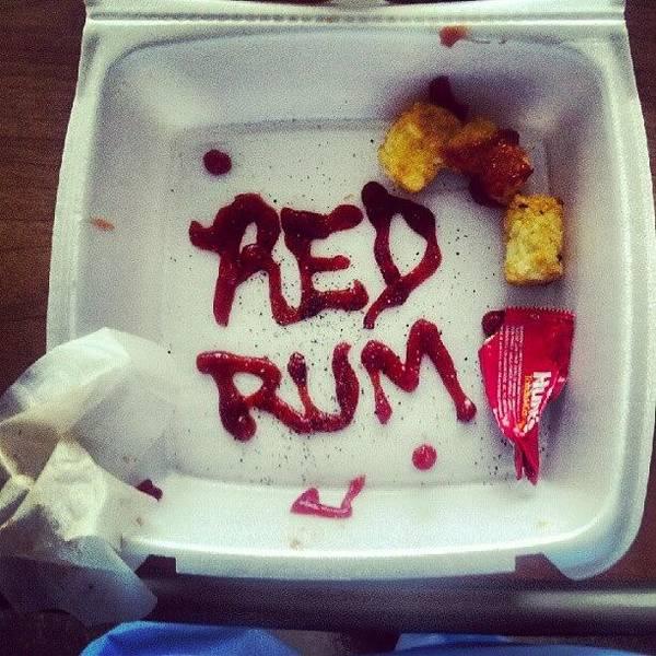 Death Wall Art - Photograph - Redrum! Redrum! by Herlan Blissett-patrick