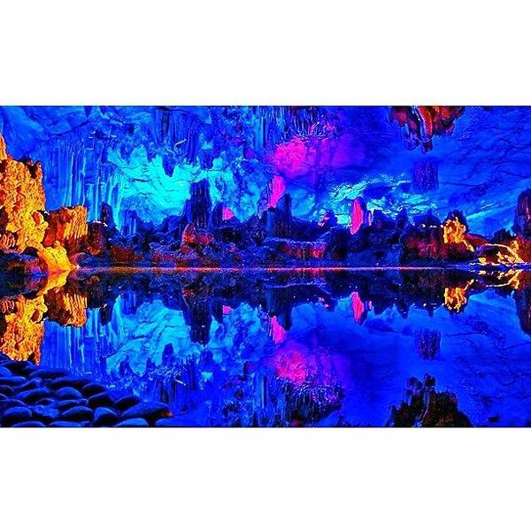 Trip Photograph - Reed Flute Cave (lu Di Yan)  With Its by Tommy Tjahjono