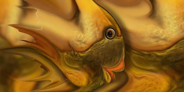 Digital Art - Reef Mistress Redux by Steve Sperry