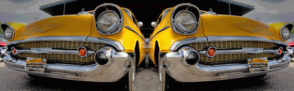 1957 Chevy Photograph - Reflecting 57 by Betsy Knapp
