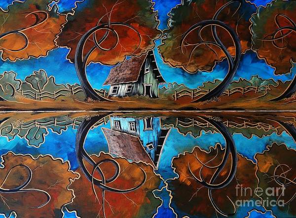 Wall Art - Painting - Reflecting On Love by Steven Lebron Langston