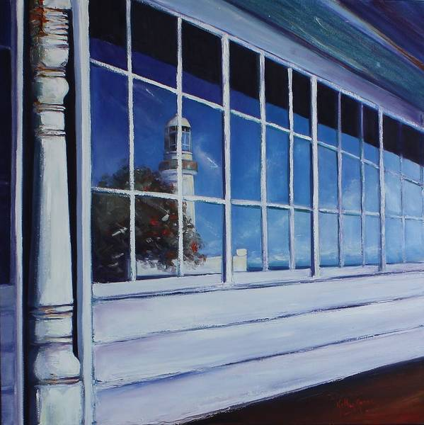 Painting - Reflecting The Past by Kathy  Karas