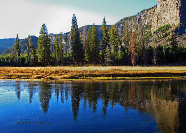 Reflection In The Rocky Mountains Art Print