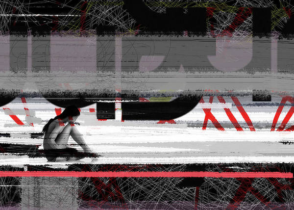 Drama Painting - Reflection by Naxart Studio
