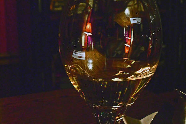 Photograph - Reflections At The Damn Pub by Cyryn Fyrcyd