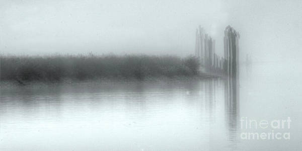 Misson Photograph - Reflections Through The Fog by Rod Wiens
