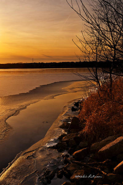 Photograph - Refreeze by Edward Peterson