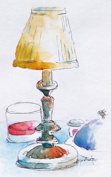 Painting - Regatta Grand Dining Room by Pat Katz