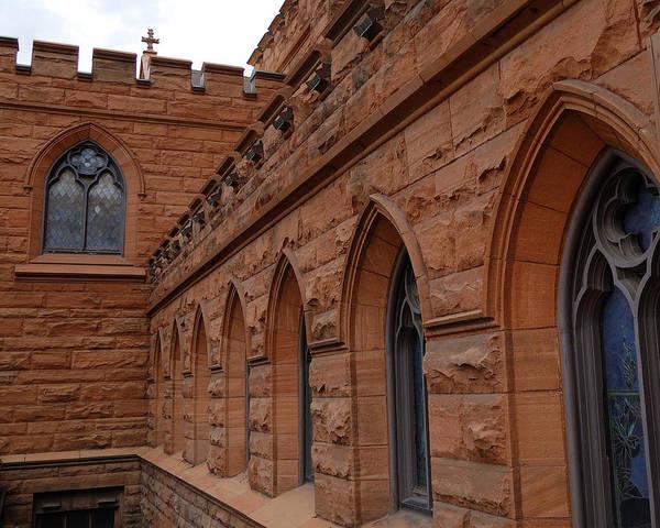 Photograph - Religious Gothic Revival - First Presbyterian Church Of Salt Lake City Utah by Steven Milner