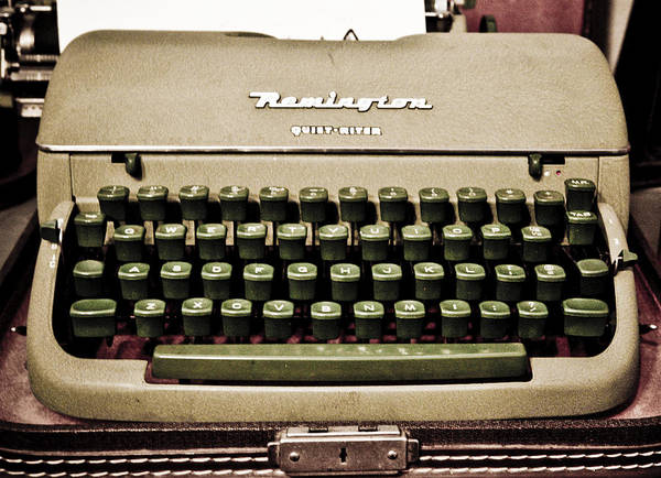 Remington Photograph - Remington Typewriter by Marilyn Hunt