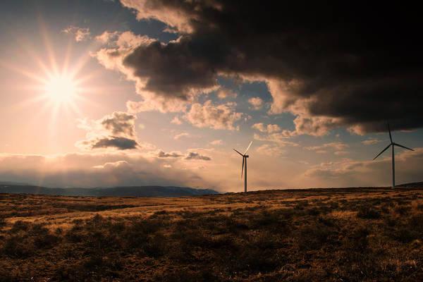 Kittitas County Wall Art - Photograph - Renewable Energy by Dan Mihai