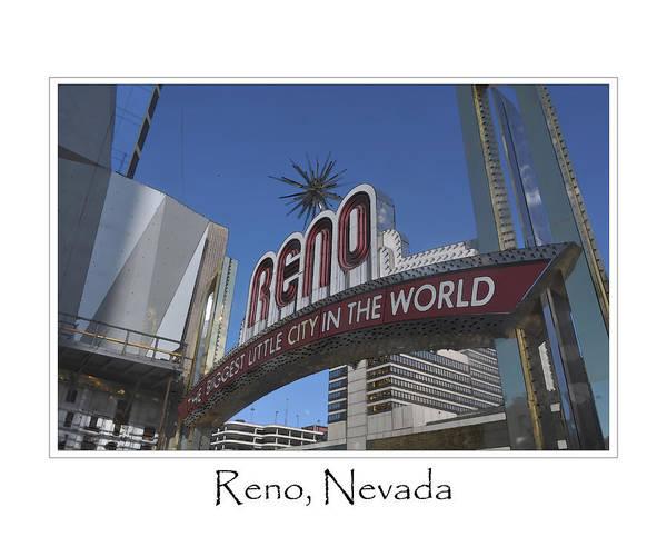 Digital Art - Reno Nevada by Brandon Bourdages