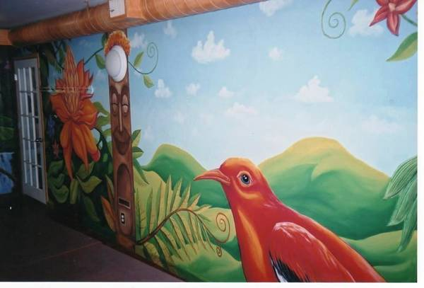 Painting - Rest Room Mural by Igor Postash