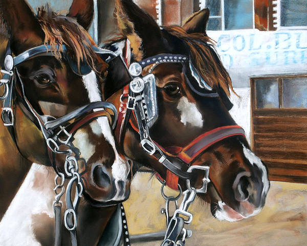 Draft Horses Paintings   Fine Art America