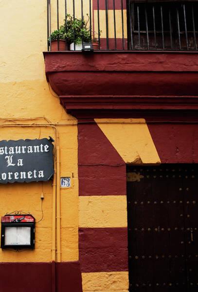 Photograph - Restaurante 63 by Lorraine Devon Wilke