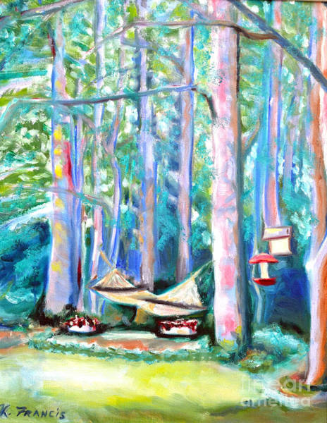 Wall Art - Painting - Resting Place by Karen Francis