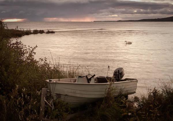 Swan Boats Photograph - Retired by Joye Ardyn Durham