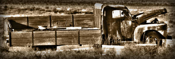Wall Art - Photograph - Retired Truck by Shane Bechler