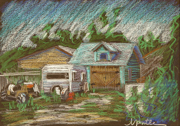 Trailer Drawing - Retirement Plan Study by Athena Mantle
