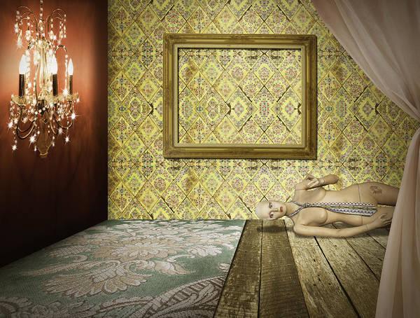 Wall Art - Photograph - Retro Room Interior by Setsiri Silapasuwanchai