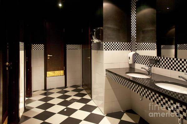 Barbeque Photograph - Retro Style Restroom by Jaak Nilson